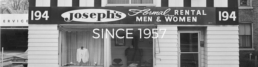 Josephs Clothiers Since 1957